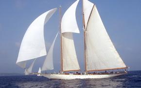 stunner, sailfish, yacht, sea
