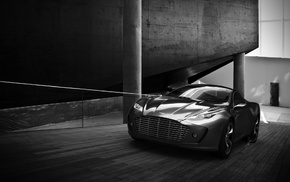 cars, Aston Martin, road, concept, speed