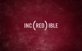 inscription, minimalism, red