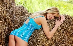 girls, booty, girl, blonde