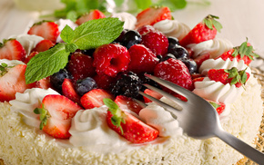 berries, sweet, strawberry, delicious, food