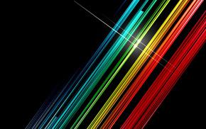 3D, stripes, lines, colors