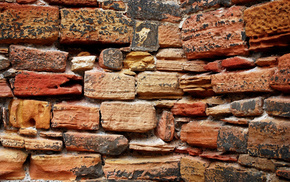 bricks, wall, background