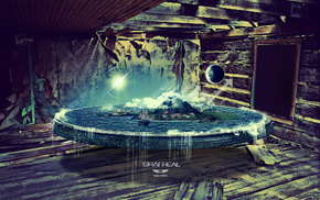 planet, water, Earth, 3D, world
