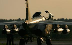 двигатели, Су 25, авиация, украина, закат, пилот