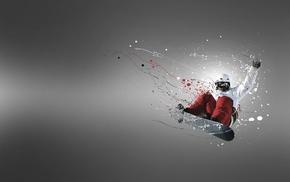 fly, board, sports, bounce