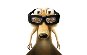 glasses, squirrel, movies