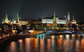 city, cities, night, lights