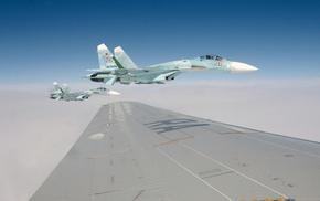 ввс, истребитель, пилот, россии, Су-27, крыло