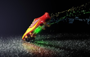 science, field, soccer, shoes, adidas