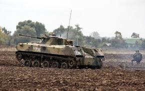 россия, броня, солдат, Бмд, оружие