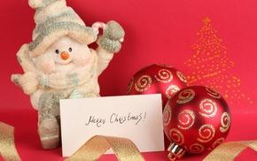 Christmas, snowman
