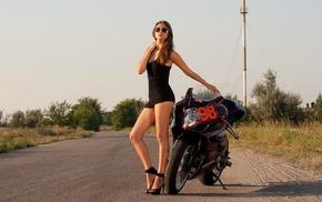 moto, sexy, girls