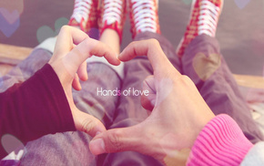 heart, hands, love