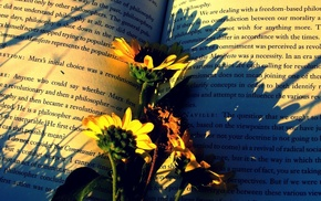 flowers, book