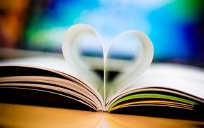 heart, book, stunner
