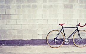 stunner, bicycle, wall, vintage