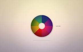 paints, minimalism, rainbow