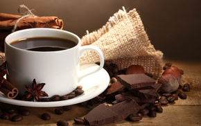 cup, chocolate, coffee, delicious