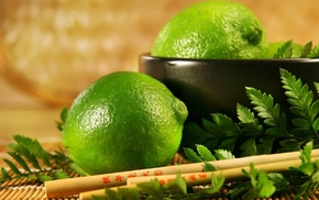 лайм, Фрукт, лимон, зеленый, вкусно
