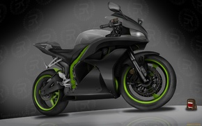 bike, motorcycles, 3D