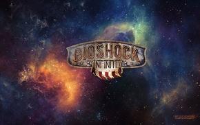artwork, BioShock Infinite, space, Booker DeWitt, stars, BioShock