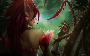 League of Legends, video games, Zyra