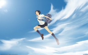 anime girls, The Girl Who Leapt Through Time, Konno Makoto, anime