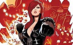 Black Widow, comics, explosion