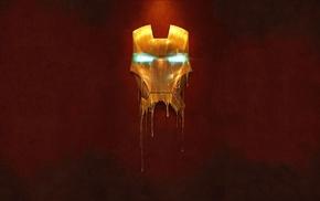 Iron Man, minimalism, superhero