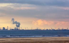 landscape, industrial
