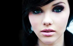 brunette, Melissa Clarke, anime, girl