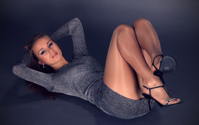 pantyhose, girls, girl, dress, legs