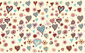 hearts, heart, holiday