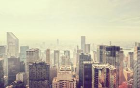 skyscraper, city, cities, view