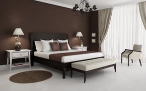 white, interior, style, design