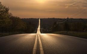 красивые, дорога в никуда, дорога