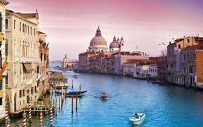 Italy, city, cities, water