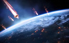video games, Mass Effect 3, Earth