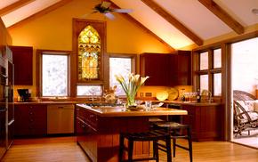 style, villa, house, design, interior