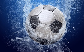 splash, sports, water, soccer