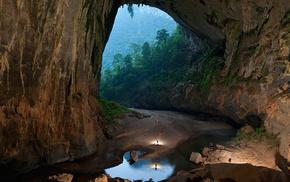 nature, cave