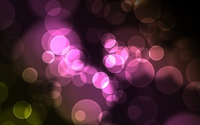 abstraction, 3D, patterns, bokeh
