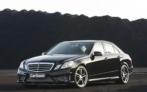 black, wheels, cars, Mercedes