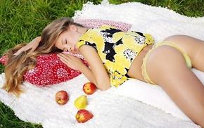 lies, apples, girl, girls