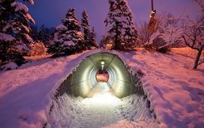 creative, winter, light