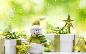 snowman, toys, smiling, creative