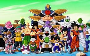 Kami, Bulma, Yamcha, Tien Shinhan, Jeice, Dragon Ball Z