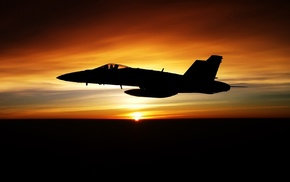 закат, fa-18f, авиация