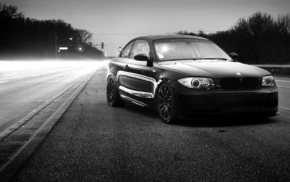 black and white, automobile, cars